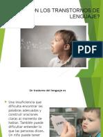 transtornos de lenguaje y fonacion