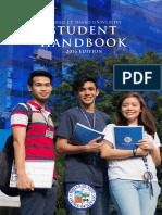 AdDU Student Handbook 2016