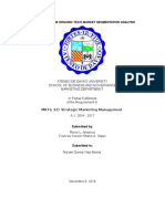 MarkMan Assignment Segmentation