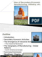 GEOG 1HB3 - Fall 2016 - Lecture 21 - Geographies of Secondary Economic Activiities I - Student-A2L