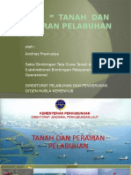 Tanah & Perairan 2013