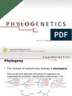 Phylogenetics 1