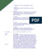 SportsLine Sample Script