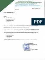 Surat Permohonan ISBN Dan Daftar Lampiran Pengajuan ISBN