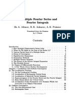 Multiple Fourier Series and Fourier Integrals