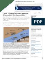 Deepwater Offshore Field Development Plan