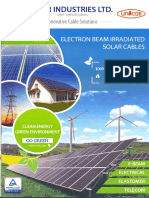 Solar Cable Brochure
