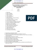 Anna University  Question Paper