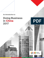 An Introduction to Doing Business in China 2017