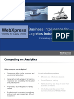 Business Intelligence Capability Logistics Pptx