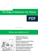 11. the Stage of Sustance Use