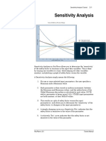 ROCPLANE Tutorial 02 Sensitivity Analysis