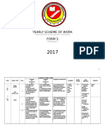 English Yearly Plan Form 3 2017