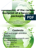 Carbon Footprinting and Sustainabilityfinal