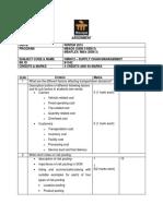 Om 0012 Supply Chain Management