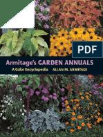Armitage's Garden Annuals - A Color Encyclopedia - 1st Edition (2004)