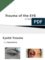 15Modul Indera (Dr. Nida)-Kuliah Trauma of the EYE.pptx 2015