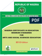 National commission for education in Nigeria