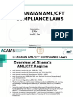 Ghanaian Aml Cft Compliance Laws