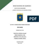 Informe N° 3_Actos y Condiciones Subestándares