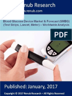 Blood Glucose Device Market Worldwide