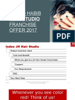Franchise Offer Jawed Habib Hair Studio ( Hair Salon )