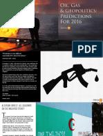 OGIQ Oil Gas Geopolitics Predictions for 2016 XL2