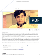 Dailytimes _ 25th Death Anniversary of Waheed Murad