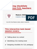 Designing CLIL Worksheets