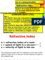 Lesson13 Refractive Index