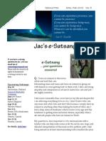 Jac O' Keeffe E-Satsang April-May 2012