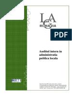 Auditul Intern in Administratia Publica