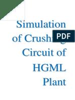 Hutti Gold Mines Crusher Circuit Simulation