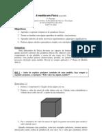 Medida em Física 2008 FCT UNL