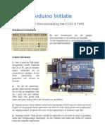 Arduino Initiatie 01 Eerste Kennismaking