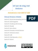Arduino Initiatie 00 Inhoudsopgave