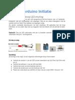 Arduino Initiatie 03 Drukknop LED sturing