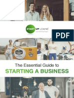 Start Up Loans Essential Guide to Starting a Business