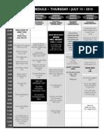 2010 Grey Fox Schedule - Final