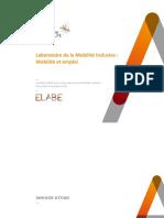 Etude Elabe Mobilite Et Emploi Pour Les Rencontres de La Mobilite Inclusive