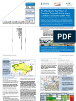 North Dunstable and Luton Consultation Leaflet