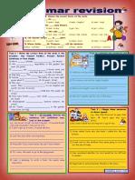 8174 Grammar Revision 3 5 Tasks for Intermediate Upperintermediate Level 30 Minutetest With Key