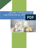 Producción de Leche y Productos Lácteos