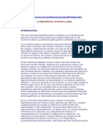 La Hiperinflación en América Latina. Revista Infoenlace