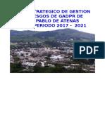 Planificacion San Padlo de Atenas