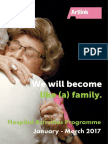 We will become like (a) family - Hospital Activities Programme Jan-Mar 2017