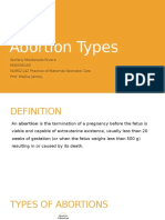 Abortion Types