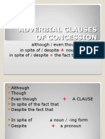 PPT 2 - Adverbial Clauses of Concession