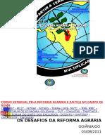 A Questão Agrária No Brasil e Em Goiás 2011