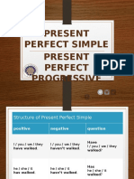 PPT 2 - Present Perfect Simple _ Cont